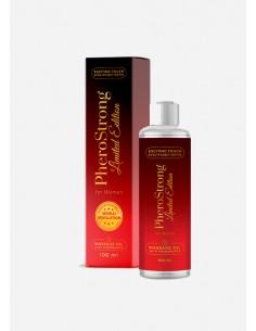 PheroStrong Limited Edition olejek do masażu dla kobiet z feromonami podniecającymi...