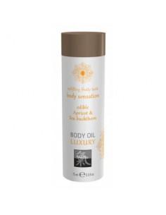 Massage Oil Apricot & Sea Buckthorn olejek do masażu o zapachu brzoskwini i rokitnika 75ml