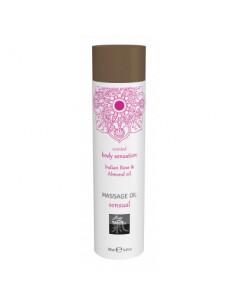 Massage Oil Sensual Indian Rose & Almond olejek do masażu o zapachu róży i migdałów 100 ml