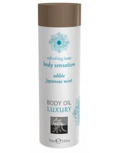 Massage Oil Japanise Mint olejek do masażu o zapachu mięty 75 ml
