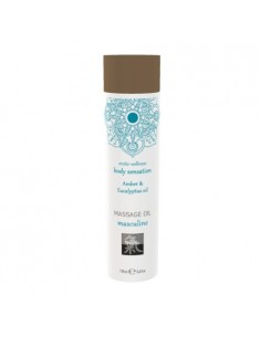 Massage Oil Amber & Eucalyptus olejek do masażu o zapachu bursztynu i eukaliptusa 100 ml