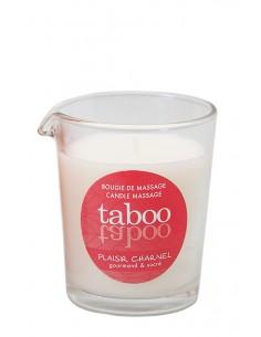 Taboo Plaisir Charnel świeca do masażu ciała o zapachu kwiatu kakaowca