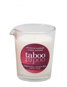 Taboo Caresses Ardentes świeca do masażu ciała o zapachu tajemniczego lasu, paproci...