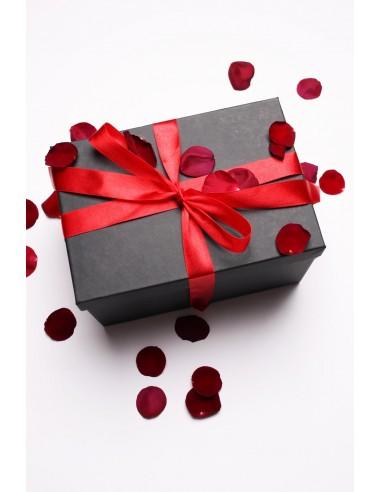 Pudełko prezentowe z kokardą