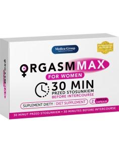 Orgasm Max for Women suplement diety ekspresowo zwiększający poziom podniecenia u...
