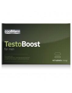 Testo Boost suplement diety na potencję dla mężczyzn 40 tabletek