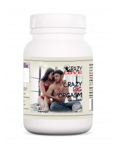 Big Orgasm naturalny suplement diety dla mężczyzn wspierający funkcje seksualne 30...