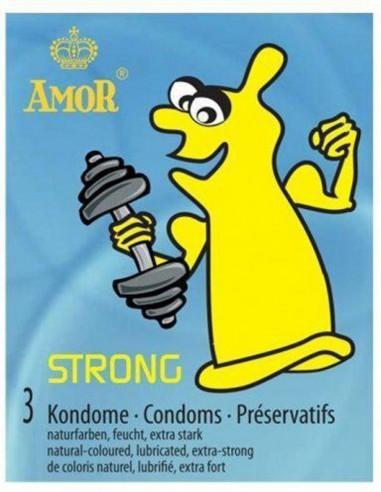 Amor Strong wytrzymałe prezerwatywy 3...