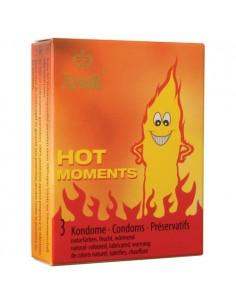 Amor Hot prezerwatywy z efektem rozgrzewającym 3 szt.