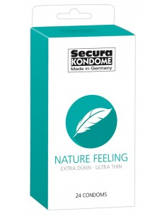 Secura Nature prezerwatywy cienkie klasyczne 24 szt.