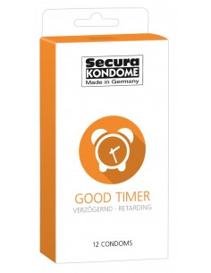 Secura Good Timer prezerwatywy przedłużające stosunek 12 szt.
