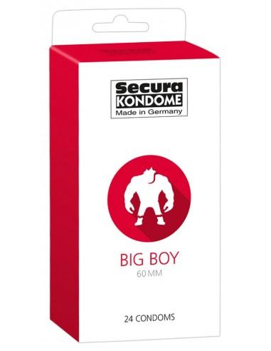 Secura Big prezerwatywy XXL 24 szt.