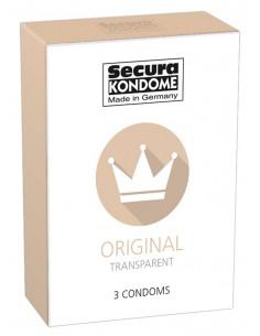Secura Original prezerwatywy klasyczne 3 szt.