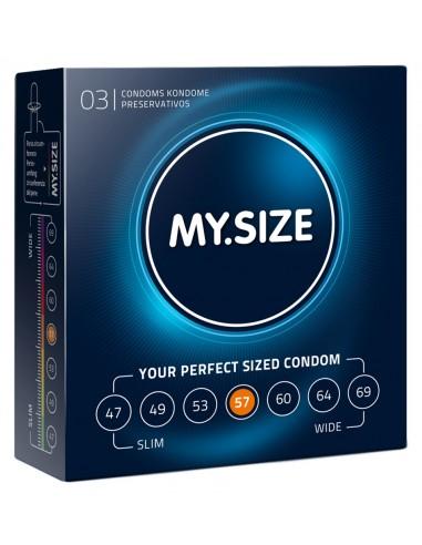 My.Size prezerwatywy klasyczne 3 szt.